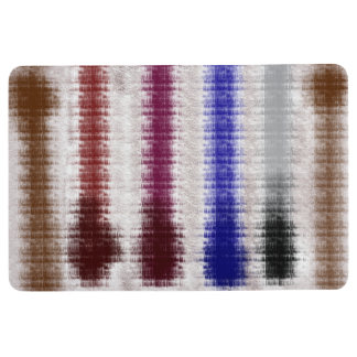 abstract forest floor mat