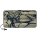 Abstract fractal beautiful gifts travel speaker