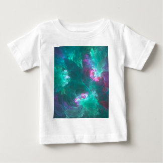 Abstract fractal in a cold palette baby T-Shirt