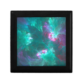 Abstract fractal in a cold palette gift box