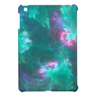 Abstract fractal in a cold palette iPad mini case