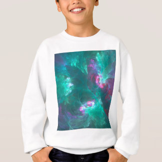 Abstract fractal in a cold palette sweatshirt