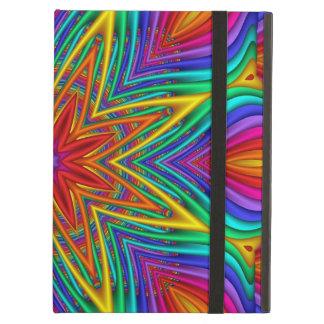 Abstract fractal kaleidoscope iPad covers