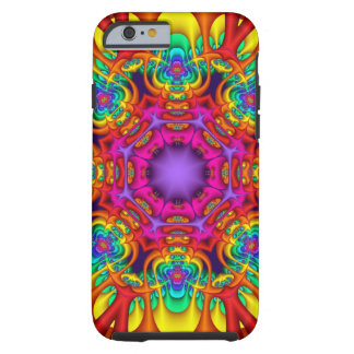 Abstract fractal kaleidoscope iPhone 6 case Tough iPhone 6 Case