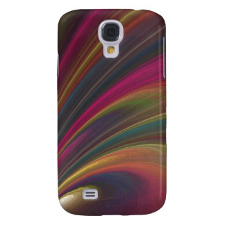 Abstract Fractal Lines Samsung Galaxy S4 Cover