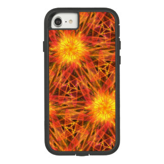 abstract fractal orange red Case-Mate tough extreme iPhone 8/7 case