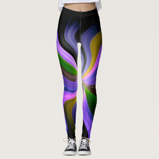 Abstract Fractal Pattern #4 Leggings