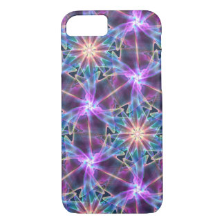 abstract fractal purple iPhone 8/7 case