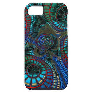 Abstract Fractal Wave Tough iPhone 5 Case