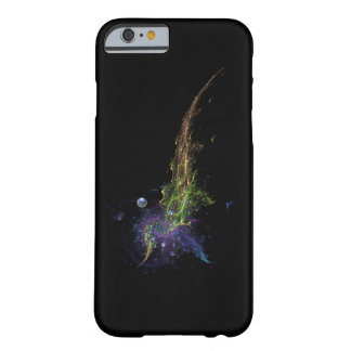 Abstract fractal with black background barely there iPhone 6 case