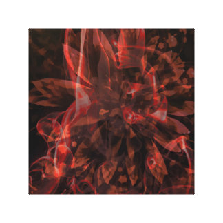 Abstract Fractals Canvas Print
