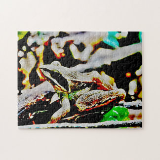 abstract frog puzzles