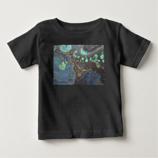Abstract Funky Galaxy Baby T-Shirt