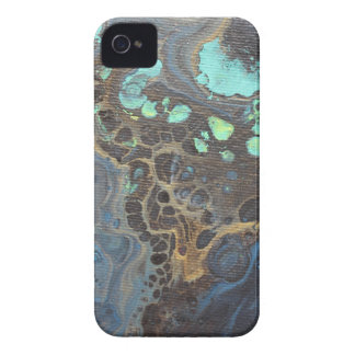 Abstract Funky Galaxy iPhone 4 Case-Mate Case