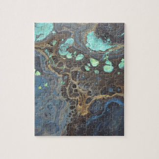 Abstract Funky Galaxy Jigsaw Puzzle