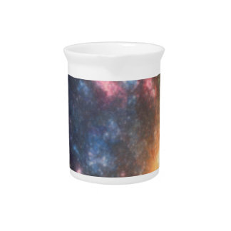 Abstract Galactic Color of Nebula Cloud Pitcher