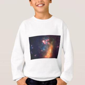Abstract Galactic Color of Nebula Cloud Sweatshirt