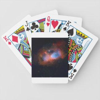 abstract galactic nebula no 1 bicycle playing cards