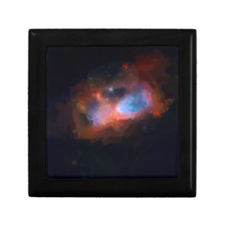 abstract galactic nebula no 1 gift box