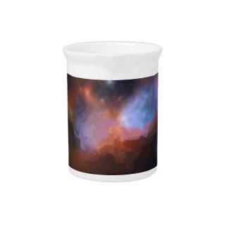 abstract galactic nebula no 1 pitcher