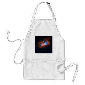 abstract galactic nebula no 1 standard apron