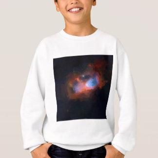abstract galactic nebula no 1 sweatshirt