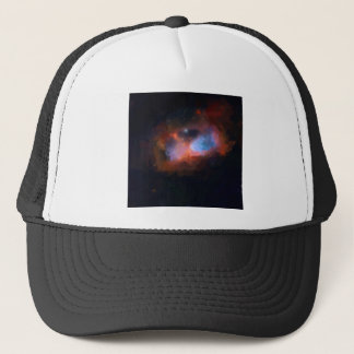 abstract galactic nebula no 1 trucker hat