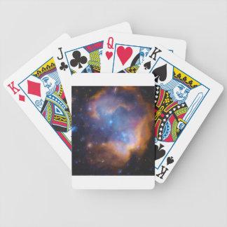 abstract galactic nebula no 2 bicycle playing cards