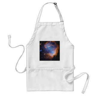 abstract galactic nebula no 2 standard apron