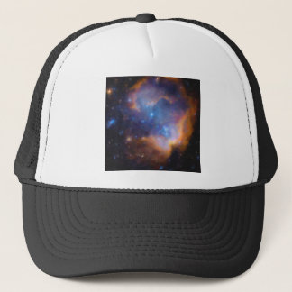 abstract galactic nebula no 2 trucker hat