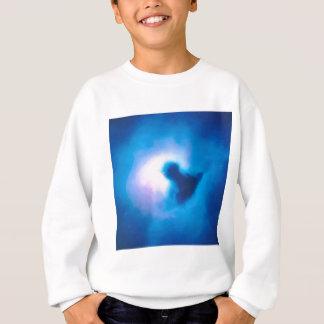 abstract galactic nebula no 3 sweatshirt