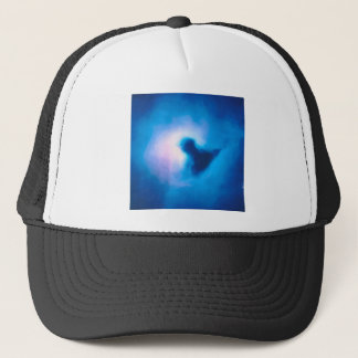 abstract galactic nebula no 3 trucker hat