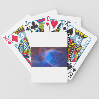 Abstract Galactic Nebula with cosmic cloud 10 Bicycle Playing Cards