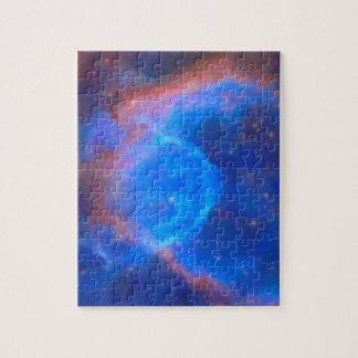 Abstract Galactic Nebula with cosmic cloud 10 xl.j Jigsaw Puzzle