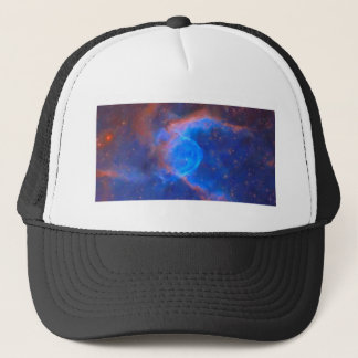 Abstract Galactic Nebula with cosmic cloud 10 xl.j Trucker Hat