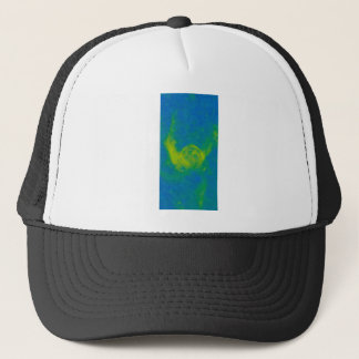 Abstract Galactic Nebula with cosmic cloud 11 Trucker Hat