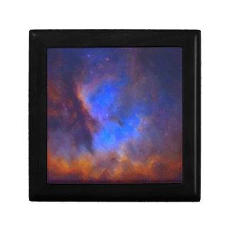 Abstract Galactic Nebula with cosmic cloud 2 Gift Box