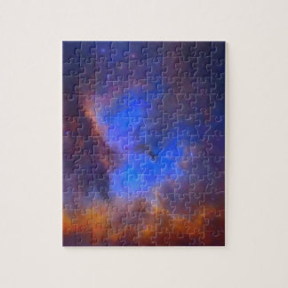 Abstract Galactic Nebula with cosmic cloud 2 Jigsaw Puzzle