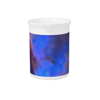 Abstract Galactic Nebula with cosmic cloud 2 Pitcher