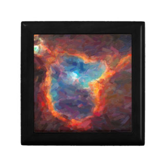 Abstract Galactic Nebula with cosmic cloud 4 Gift Box