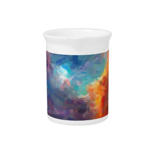 Abstract Galactic Nebula with cosmic cloud 4 Pitcher