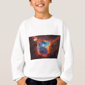 Abstract Galactic Nebula with cosmic cloud 4 Sweatshirt