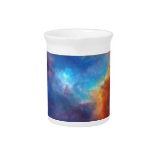 Abstract Galactic Nebula with cosmic cloud 4a Pitcher