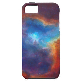 Abstract Galactic Nebula with cosmic cloud 4a Tough iPhone 5 Case
