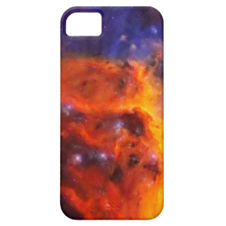 Abstract Galactic Nebula with cosmic cloud 5 Barely There iPhone 5 Case