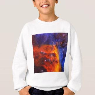 Abstract Galactic Nebula with cosmic cloud 5 Sweatshirt