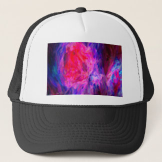 Abstract Galactic Nebula with cosmic cloud 6   24x Trucker Hat