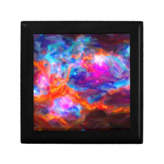 Abstract Galactic Nebula with cosmic cloud 7   24x Gift Box