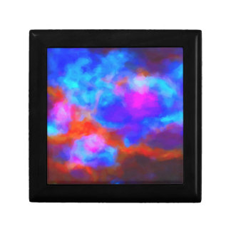 Abstract Galactic Nebula with cosmic cloud 7a   24 Gift Box