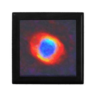 Abstract Galactic Nebula with cosmic cloud 9 Gift Box